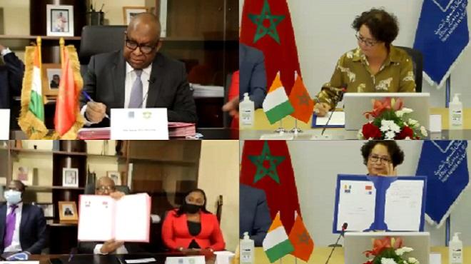 Signature D'une Convention De Partenariat Entre La Haca Et Son Homologue Ivoirien