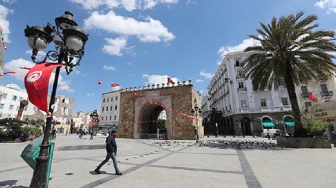 Tunisie Tous les gouvernorats classés en rouge