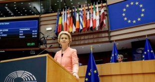 Ursula Von der Leyen prononce son 1er discours sur l'état de l'Union 2020