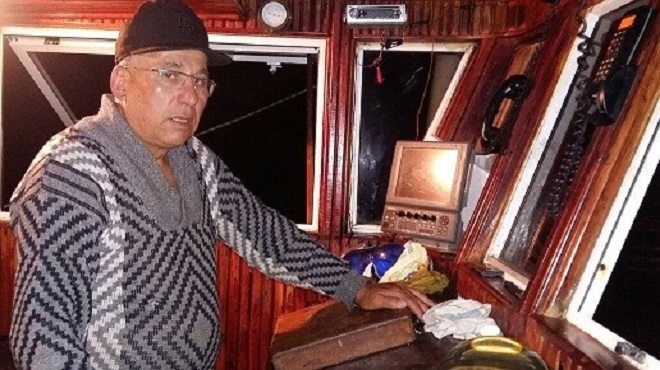 Abdelghani Bofrah patron de pêche