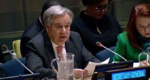 Antonio Guterres dénonce l'usurpation de statut par le polisario