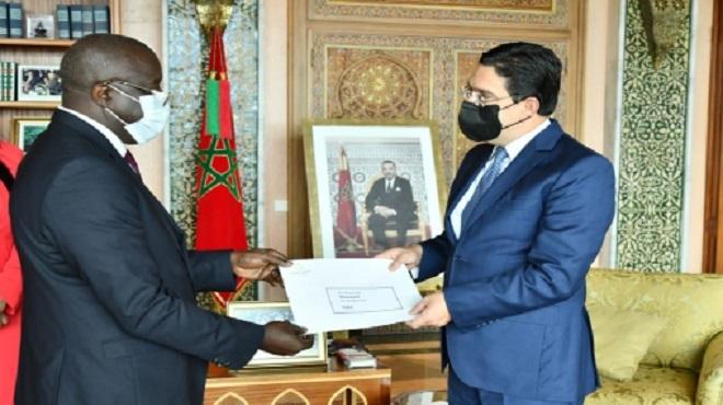 Bourita reçoit le nouvel ambassadeur de Guinée Bissau au Maroc