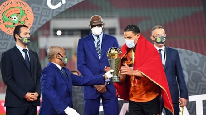 CAF La Renaissance de Berkane décroche son premier titre africain