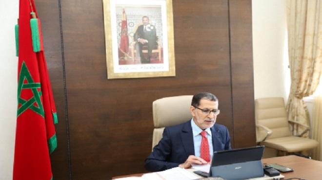 El Otmani appelle à sensibiliser davantage autour de l'impact de la Covid-19 sur les personnes âgées