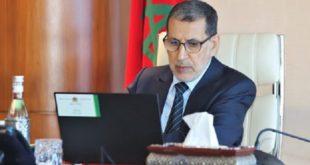 El Otmani Préside La 2è Réunion Du Comité De Pilotage Du Programme National 2020 2027