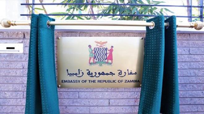 Inauguration à Rabat de l'ambassade de la République de Zambie au Maroc