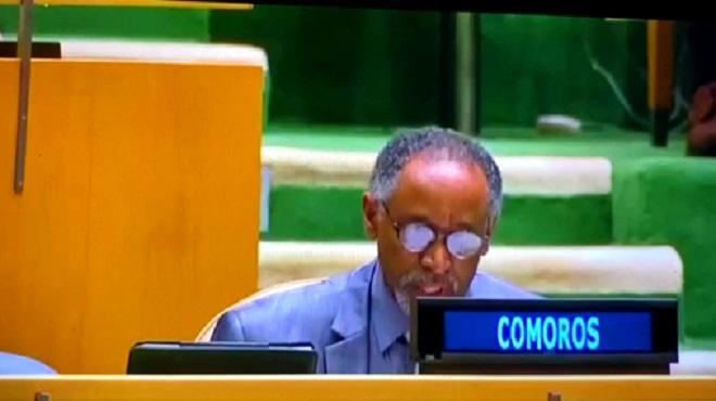 L'Union des Comores réitère son soutien à la marocanité du Sahara et à l'initiative d'autonomie