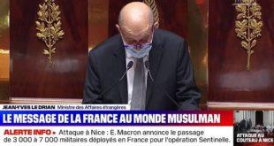 La France Adresse Un Message De Paix Au Monde Musulman Le Drian
