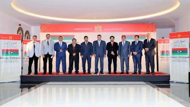 La conférence ministérielle sur la Libye se félicite du dialogue inter-libyen de Bouznika