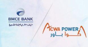 Le Groupe Bmce Bank Et Acwa Power Maroc Remportent Le Prix Arabe Rse