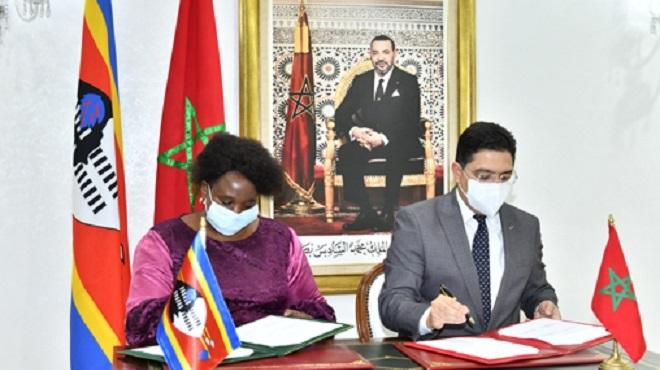 Le Maroc et l'Eswatini renforcent leur coopération dans les domaines de l'industrie et de la santé