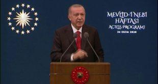 Le Président Recep Tayyip Erdogan appelle au boycott des produits français