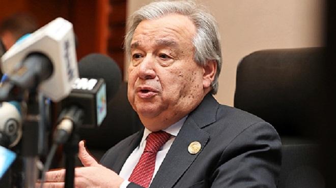 Le SG de l'ONU réaffirme les fondamentaux de la solution politique de la question du Sahara marocain