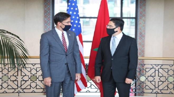 Le partenariat stratégique Maroc-Etats Unis puise sa force de la vision éclairée de Sa Majesté le Roi Mohammed VI