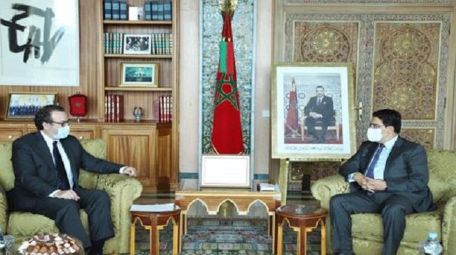 Les États-Unis saluent le leadership continu et précieux de SM le Roi dans les questions d'intérêt commun