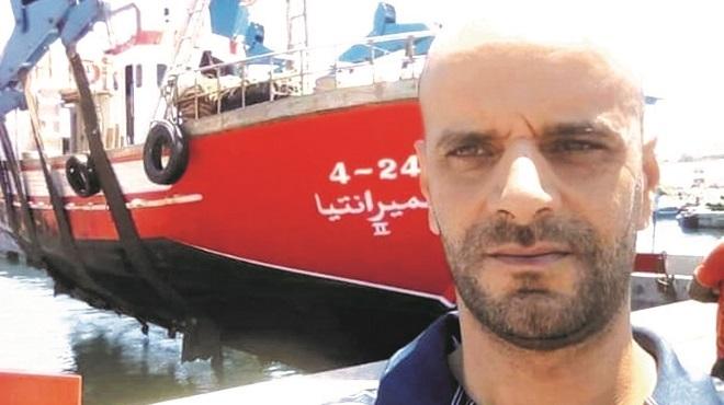 Mustapha Achabak patron de pêche