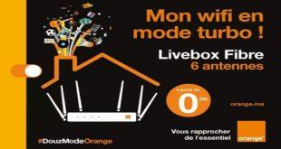 Orange Innove Avec Le Lancement De La Livebox Fibre à 6 Antennes