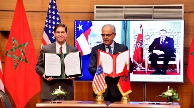 Rabat et Washington signent un accord décennal de coopération militaire