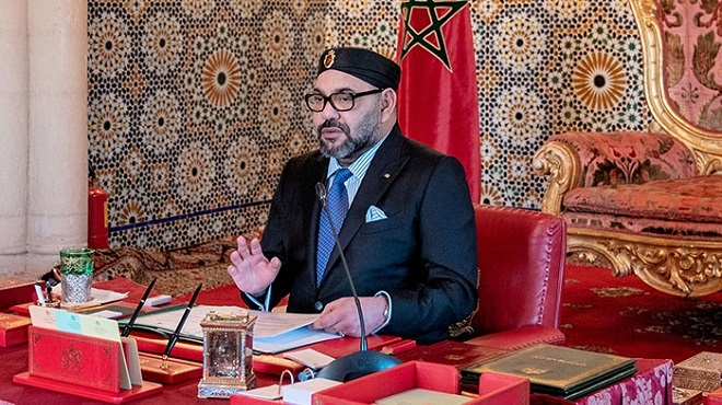 Sa Majesté le Roi Mohammed VI préside un Conseil des ministres