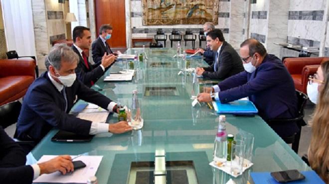 Sahara marocain L'Italie salue les efforts sérieux et crédibles déployés par le Maroc