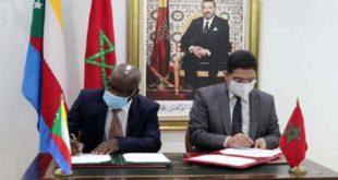 Signature de cinq accords de coopération entre le Maroc et l'Union des Comores