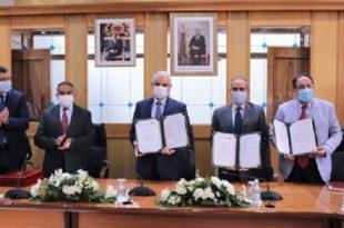 Signature de deux conventions de partenariat pour promouvoir les normes de la santé et la sécurité au travail