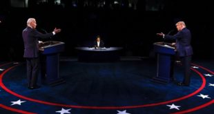 USA-Trump Biden Le dernier débat