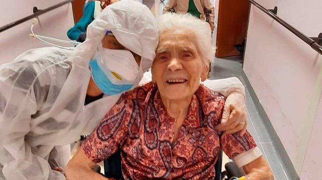 Une femme mexicaine de 103 ans guérit du Covid-19