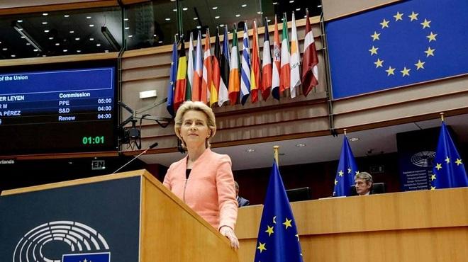 Next Generation EU,Commission européenne,Ursula von der Leyen