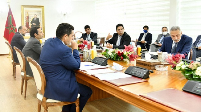 Visioconférence à Rabat consacrée aux perspectives de coopération entre le Maroc et l'UE