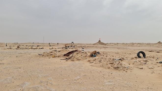 5 km du corridor de Guergarate qui sépare le Maroc de la Mauritanie