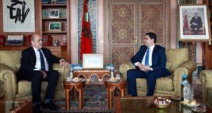 Bourita Et Le Drian Soulignent Le Partenariat D'exception Liant Le Maroc La France