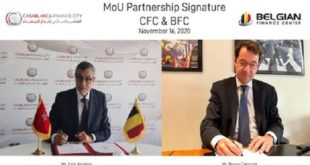 Casablanca Finance City Et Le Belgian Finance Center Scellent Un Partenariat