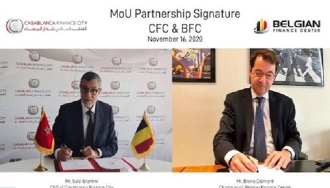Casablanca Finance City Et Le Belgian Finance Center Scellent Un Partenariat