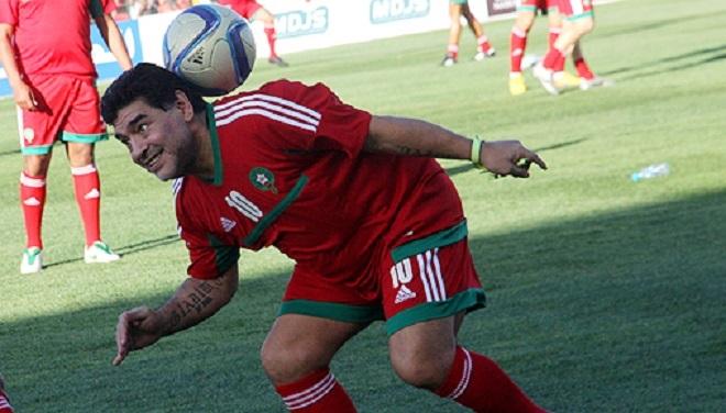 Décès de la légende de football Diego Maradona