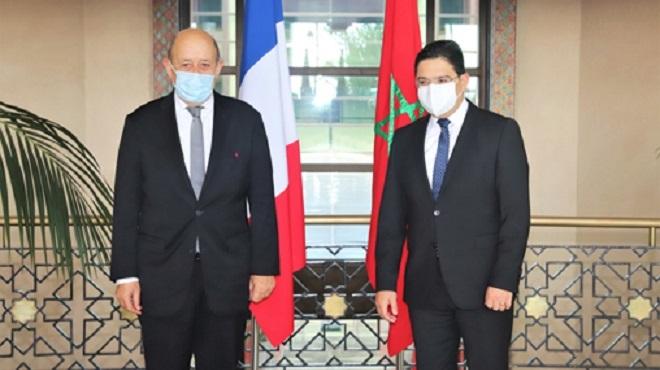 Dialogue Inter Libyen Le Drian Salue Les Efforts Importants Du Maroc