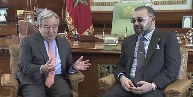 Entretien entre le Roi du Maroc et le Secrétaire Général de l'ONU