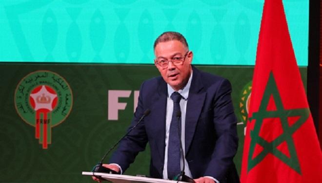 Fouzi Lekjaa Candidat Au Poste De Membre Du Conseil De La Fifa