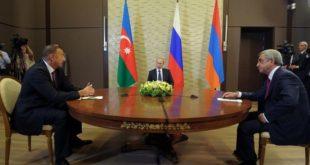 Haut Karabakh Moscou entérine la défaite de l'Arménie de Pachinian