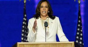 Kamala Harris première vice-présidente des Etats-Unis