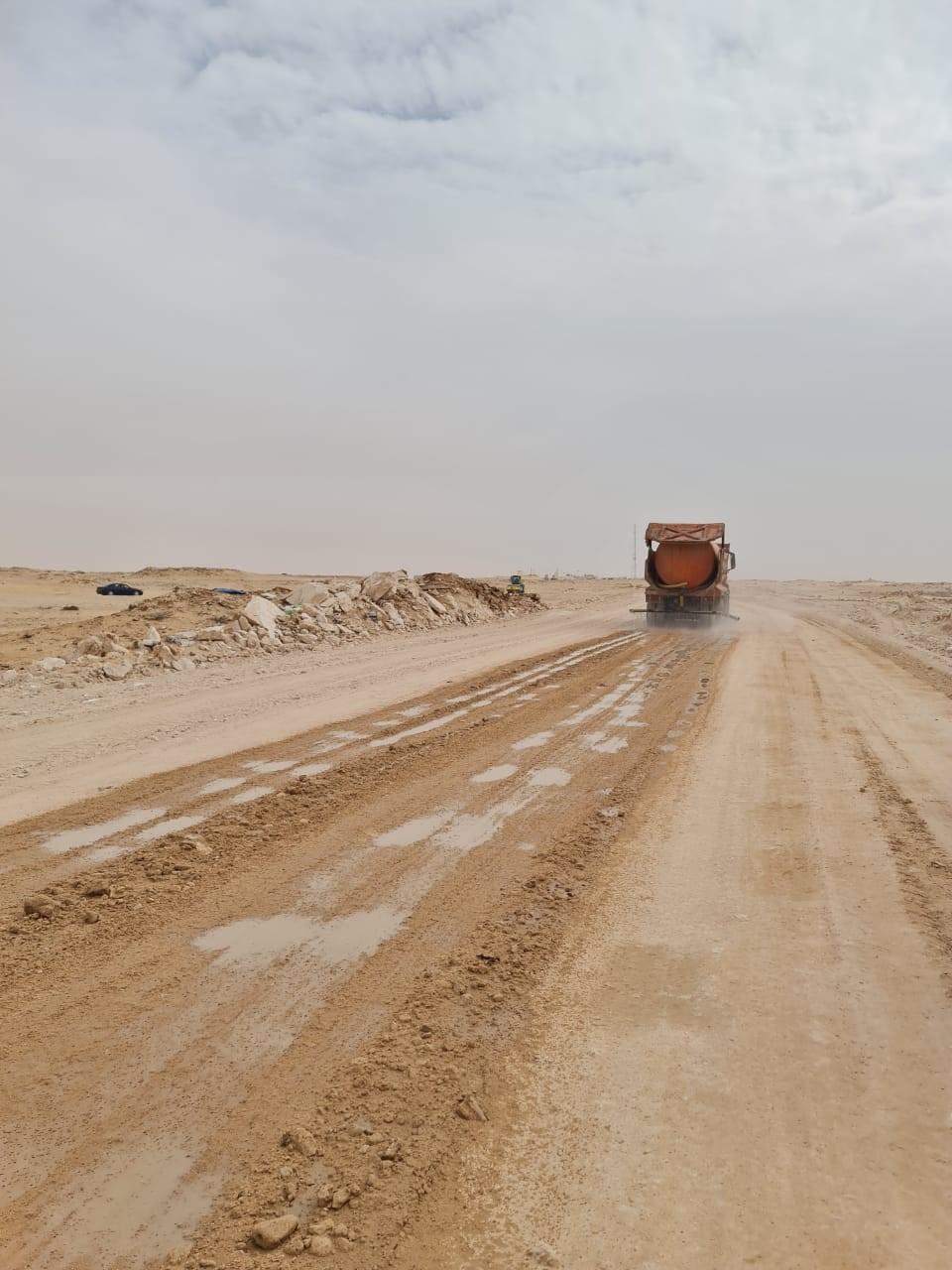 Le Maroc finit de goudronner les 2 kilomètres restants du corridor le séparant de la Mauritanie, qu'empruntent les camions et autres véhicules