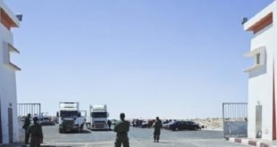 Le Maroc Nettoie Le Passage De Guergarate Des Miliciens Du Polisario
