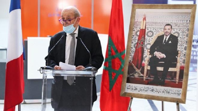 Le Maroc, un acteur central en Afrique dans le domaine muséal et patrimonial Le Drian