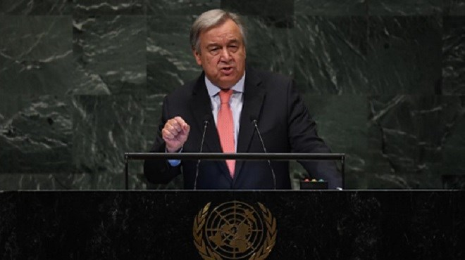 Le Secrétaire général de l'ONU préoccupé par la situation provoquée par le polisario à Guergarate