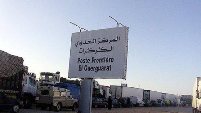 Le rétablissement par le Maroc de la libre circulation à El Guerguerat