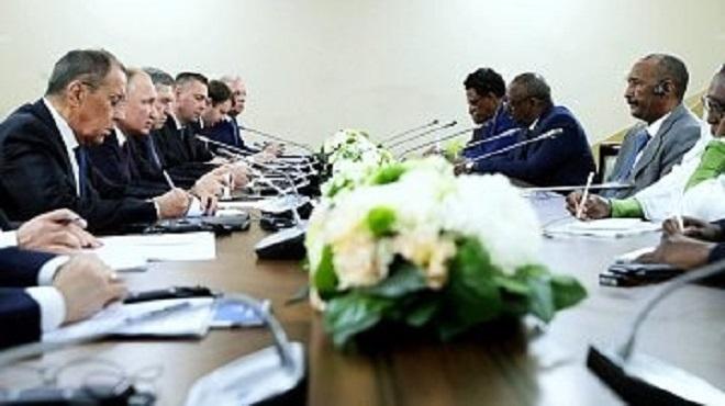 Le Retour De La Russie Par Le Soudan