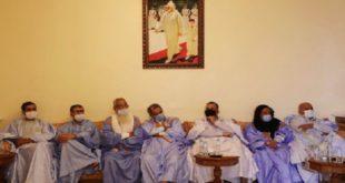 Les Chioukhs Des Tribus Sahraouies Appuient Les Efforts De Restaurer La Libre Circulation à Guergarate