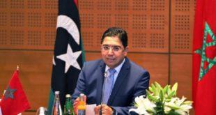 Nasser Bourita réaffirme la volonté du Royaume de contribuer à la résolution de la crise libyenne