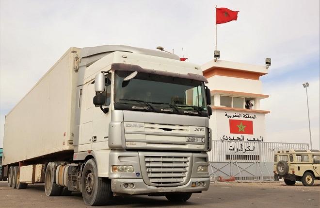 Les Marocains du Pays Basque soutiennent l'intervention des FAR pour débloquer le passage d'El Guerguarat