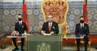 Un discours Royal de fermeté, de détermination et de mobilisation